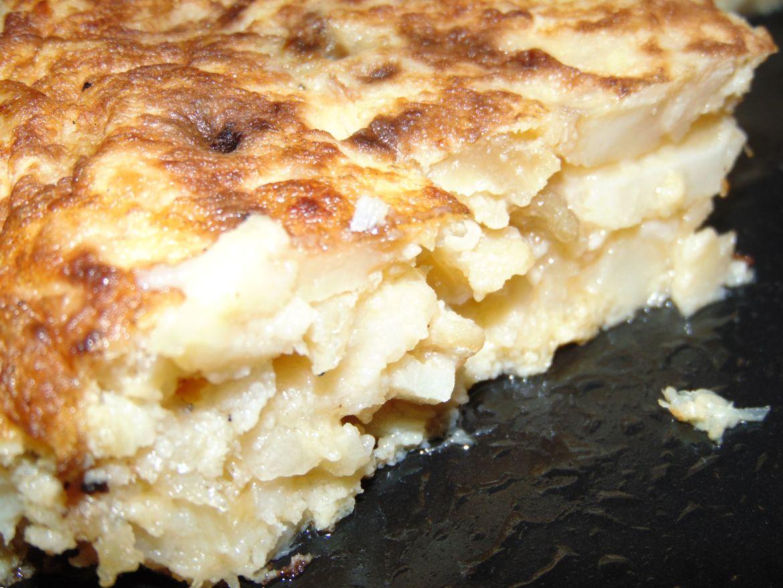 Tortilla de patata Mariscos Gallegos