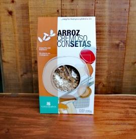 Comprar Arroz Cremoso con Setas 220gr a domicilio al mejor precio online, económico y barato. Primera y máxima calidad