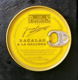Comprar Bacalao a la Gallega - 120gr a domicilio al mejor precio online, económico y barato. Primera y máxima calidad