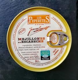 Comprar Mejillones en escabeche - 120g a domicilio al mejor precio online, económico y barato. Primera y máxima calidad