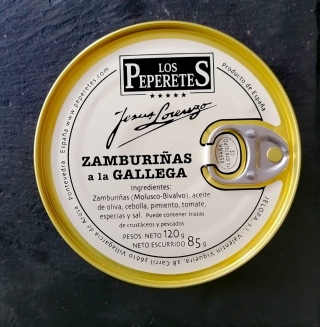 Comprar Zamburiñas a la Gallega - 120g a domicilio al mejor precio online, económico y barato. Primera y máxima calidad