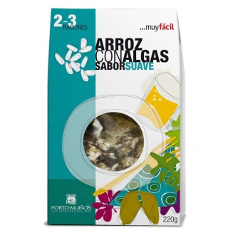Comprar Arroz con algas sabor suave 220g a domicilio al mejor precio online, económico y barato. Primera y máxima calidad