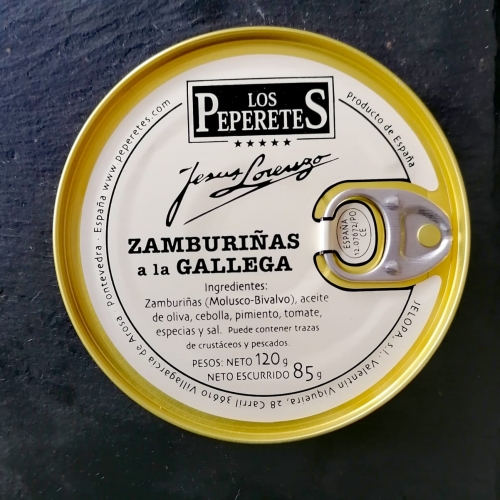 Zamburiña a la Gallega - 120gr